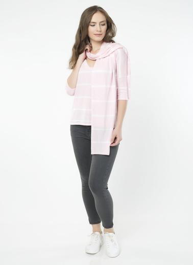 Silk and Cashmere Bluz Pembe